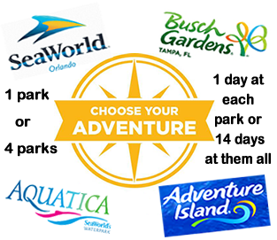 Attraction Ticket Center SeaWorld and its Sister parks Busch
