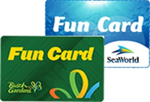 Picture Of SeaWorld U0026 Busch Gardens Fun Card   Ages 3 Years +